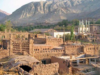 新疆吐鲁番沙湾县地图
