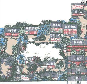 其前砖细门楼为乾隆间物,雕镂之精,被誉为苏州古典园林中同类门楼之冠