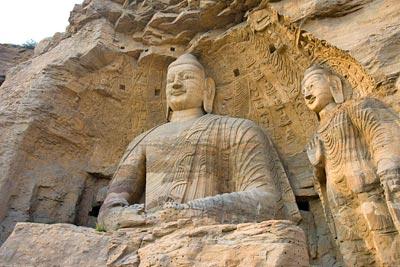 中国名胜大佛古迹